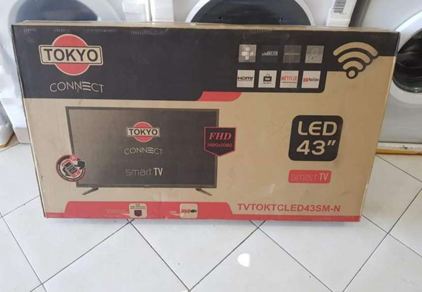 Tv led Smart Tokyo full HD 43 pulgadas - 0