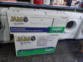 Aire acondicionado Jam 18.000 btu gas ecológico