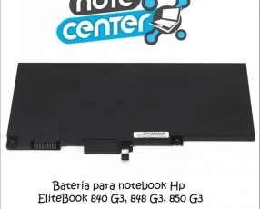 Bateria para notebook Hp EliteBook 840 G3, 848 G3, 850 G3