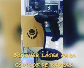 Scanner láser de códigos de barras