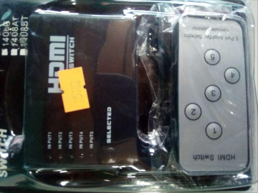 HDMI Spiter 5 x 1 con control - 1