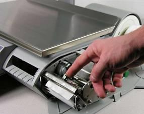 Balanza con impresora para supermercados y afines
