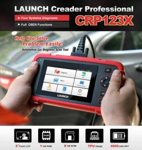 Escáner Launch CRP123X . Android. Tactil. Wifi 2020!!