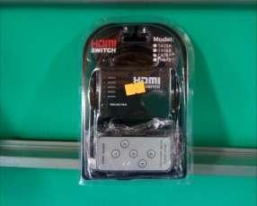 HDMI Spiter 5 x 1 con control