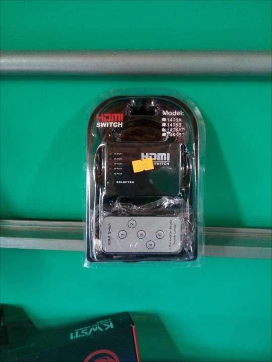 HDMI Spiter 5 x 1 con control - 0
