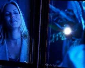 TV Smart 32 pulgadas con fisura en la pantalla