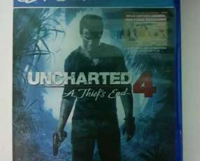 Uncharted 4 y COD Infinite Warfare PS4