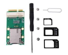 Adaptador Mini PCI-E para 3G 4G en notebook