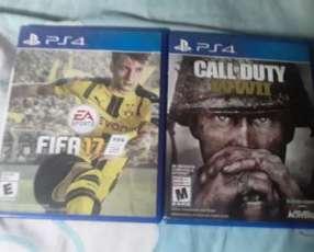 Call of Duty WW2 y FIFA 17