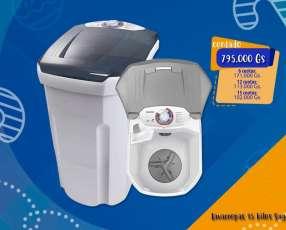 Lavarropas semiautomática 15 kilos