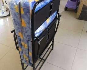 Cama plegable de 0.80 x 190 + colchón