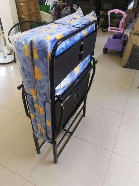 Cama plegable de 0.80 x 190 + colchón - 0