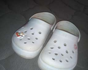 Crocs color blanco