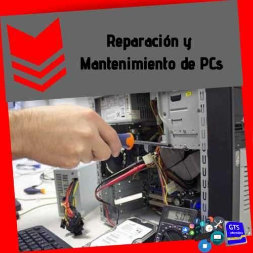 Reparación de mantenimiento de equipos informáticos - 1