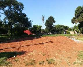 Vendo amplio terreno, San Lorenzo, barrio Reducto/Rincon