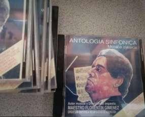 CD original Antología Sinfónica música clásica