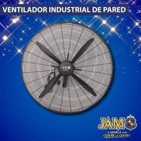 Ventilador industrial de pared