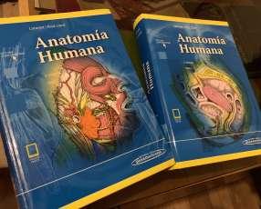 Libro de anatomía humana latarjet, 5ta edición
