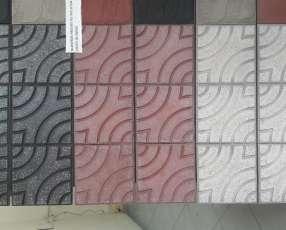 Piso granítico 30x30 cm