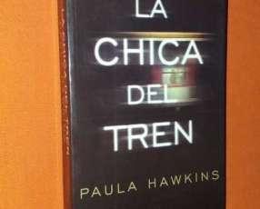 Libro de novela La chica del Tren