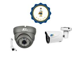 Kit de 4 Cámaras de Seguridad JET c/ HDD 1Tb.