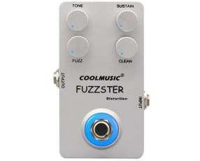 Pedal de fuzz para guitarra eléctrica Coolmusic Fuzzter