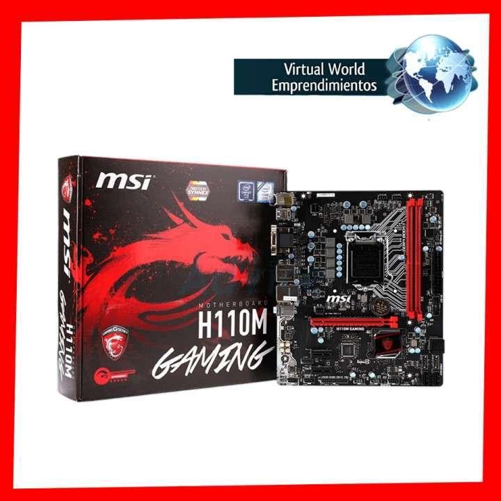 Placa madre MSI H110M Gaming - 0