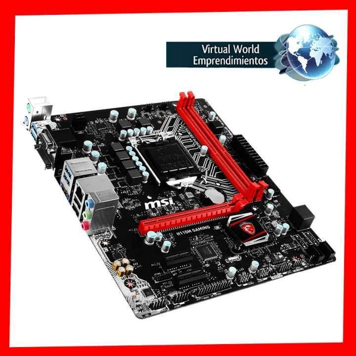 Placa madre MSI H110M Gaming - 2