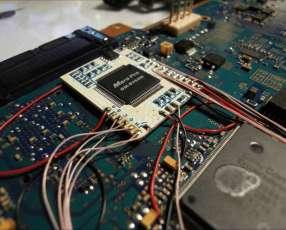 Placa de encendido para PS2 flex motor central lateral lente