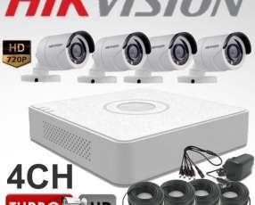 4 cámaras HD instalado