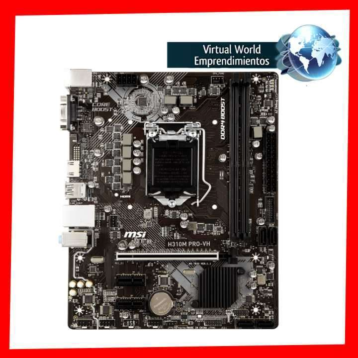 Placa madre MSI Pro Series Intel H310m LGA1151 - 1