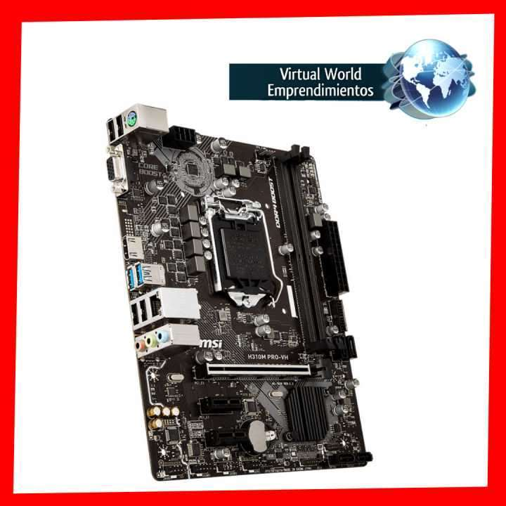 Placa madre MSI Pro Series Intel H310m LGA1151 - 2