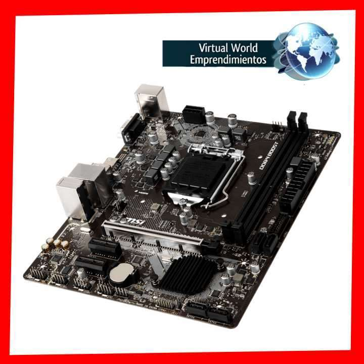 Placa madre MSI Pro Series Intel H310m LGA1151 - 3