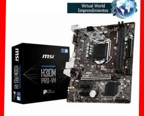 Placa madre MSI Pro Series Intel H310m LGA1151