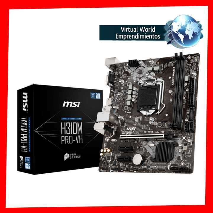 Placa madre MSI Pro Series Intel H310m LGA1151 - 0