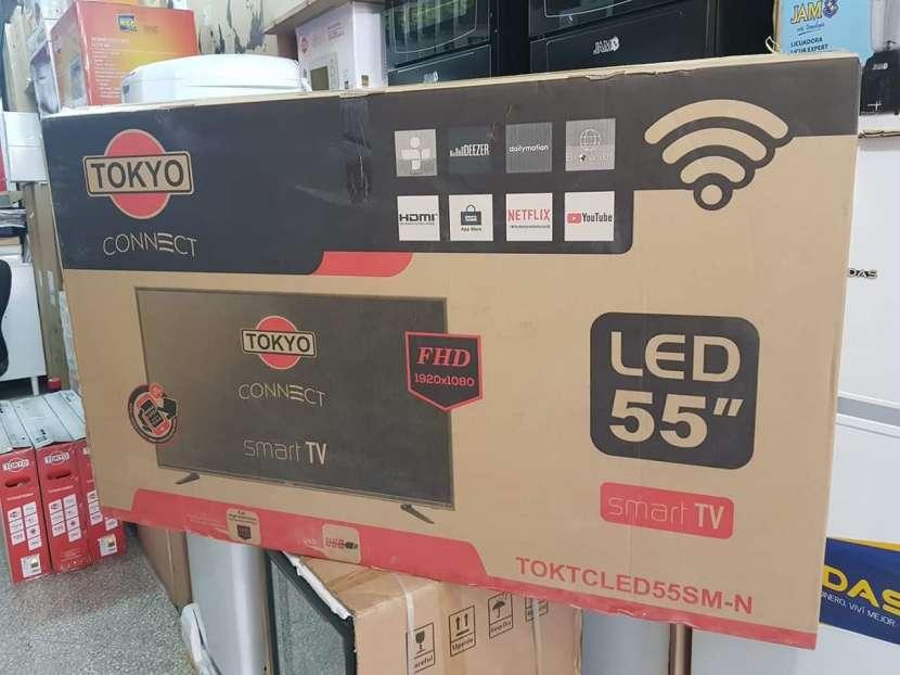 Tv LED Smart tokyo full HD 55 pulgadas - 0