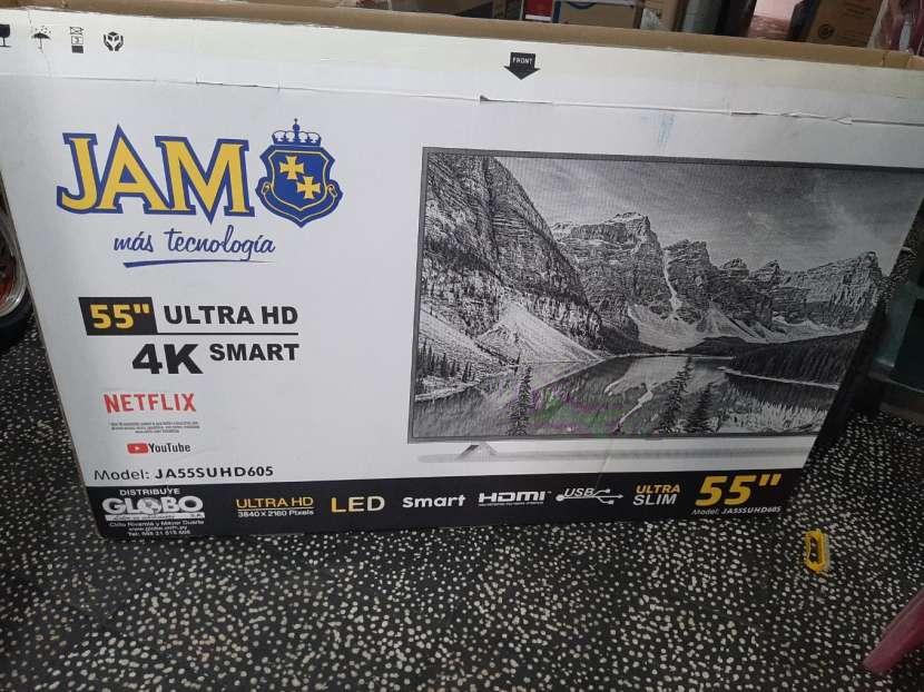 Tv led smart Jam full HD 55 pulgadas 4k - 0