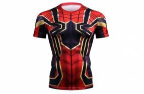 Camiseta segunda piel Hombre Araña ciclismo