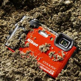 Cámara Nikon W300 Sumergible.