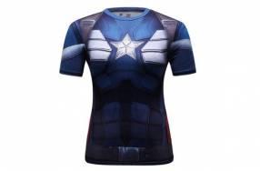 Camiseta Crossfit ciclismo femenino