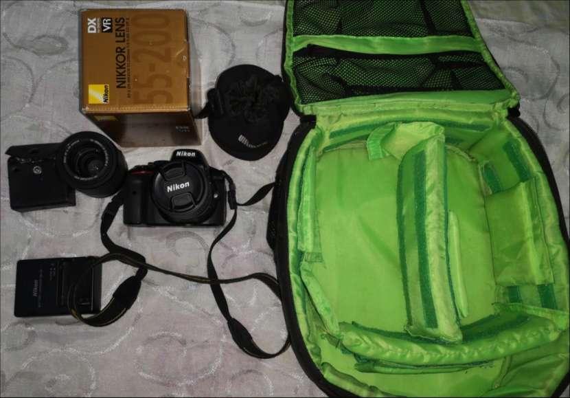 Cámara profesional Nikon D5300 con accesorios originales - 3