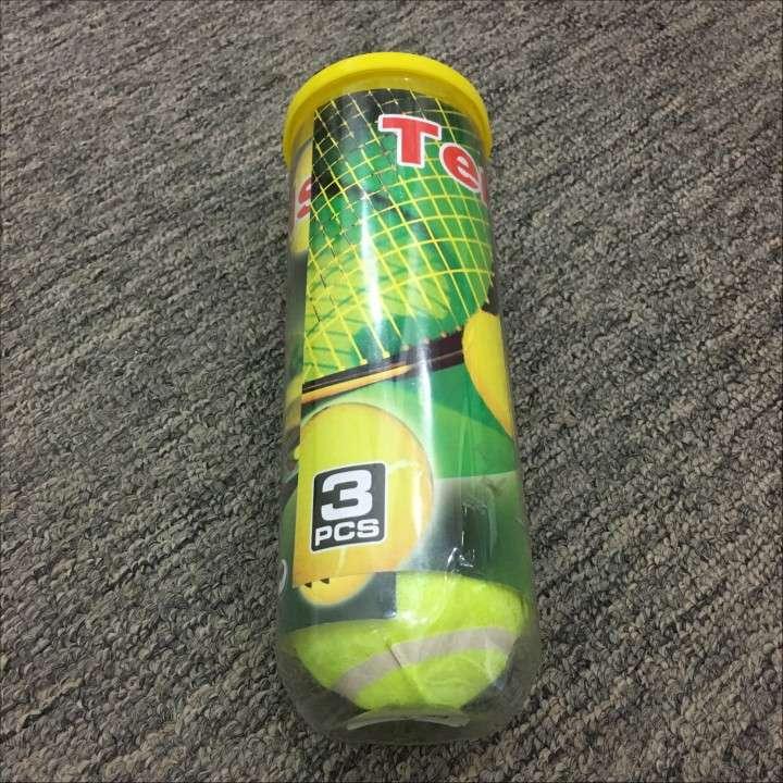 Tubo con pelotas de Tenis o Padel para niños - 1