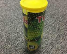 Tubo con pelotas de Tenis o Padel para niños