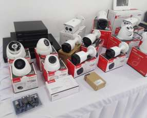 Kit 4 cámaras hd Dahua