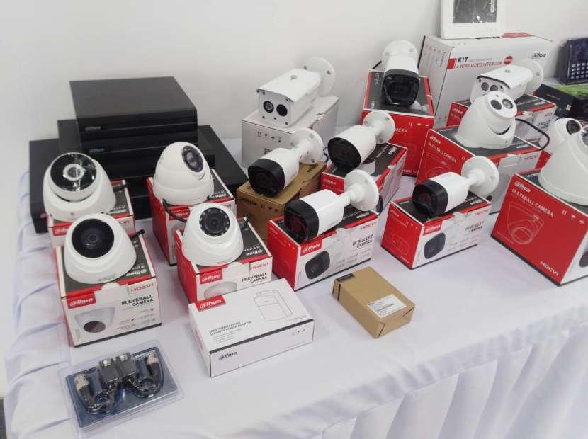 Kit 4 cámaras hd Dahua - 0