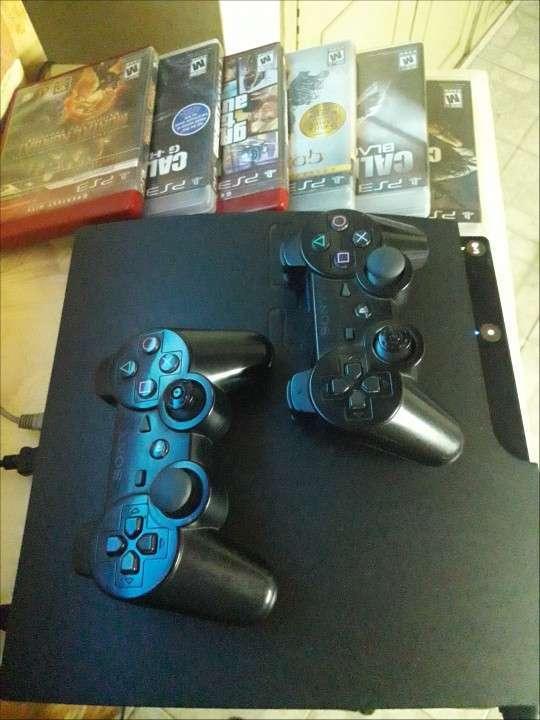 Playstation 3 + 6 juegos - 3