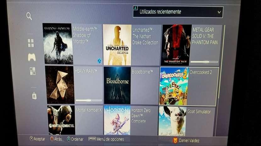 PS4 con juegos - 3