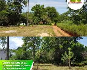 Terreno en la ciudad de Ñemby barrio Uruguay
