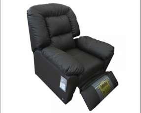 Poltrona reclinable eco leather sistema de empuje 745