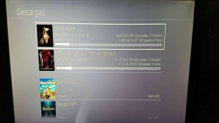 PS4 con juegos - 4